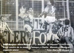 90-91 Real Burgos - Atco.Madrid 4
