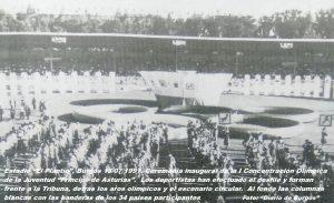 COJ´91. Ceremonia Inaugural. El Plantío (Burgos), 13-07-1991