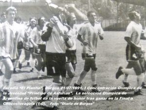 COJ´91. Clausura. El Plantío (Burgos), 21-07-1991 (2)