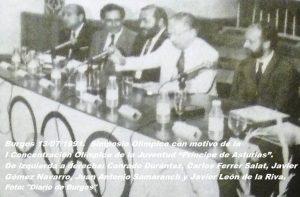 COJ´91. Simposio Olímpico (Burgos), 13-07-1991 (3)